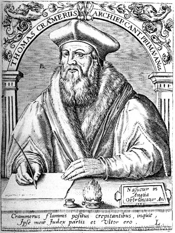 From Cranmer to the Mayflower Pilgrims